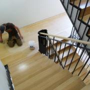 Treppenstufen Bambus Parkett Bocholt