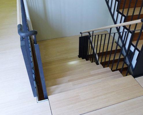 Treppenstufen in Bocholt, Isselburg, Borken