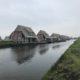 Watervilla Delfstrahuizen Landhausdielenboden Eiche verlegt